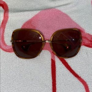 Chorme heart sunglasses